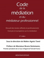 COUV-couverture code de la mediation