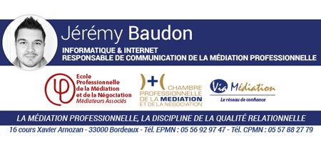Signatures de mails ecole professionnelle de la - Chambre professionnelle de la mediation et de la negociation ...